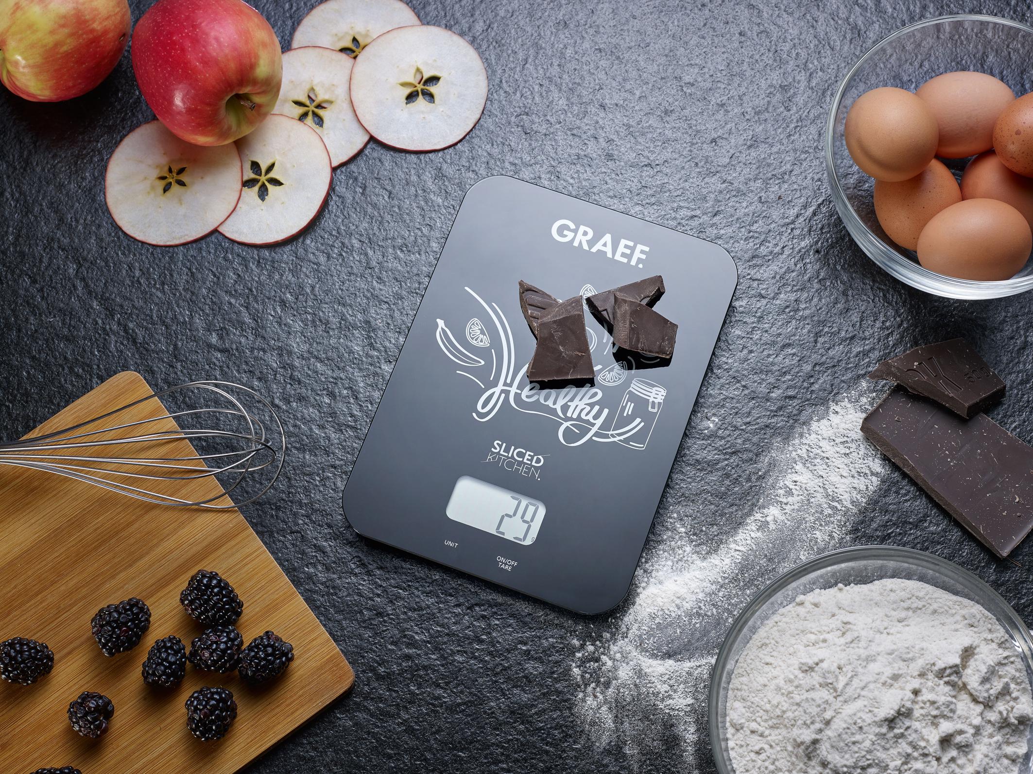 Präzision im kreativen Design: Die neue GRAEF Küchenwaage