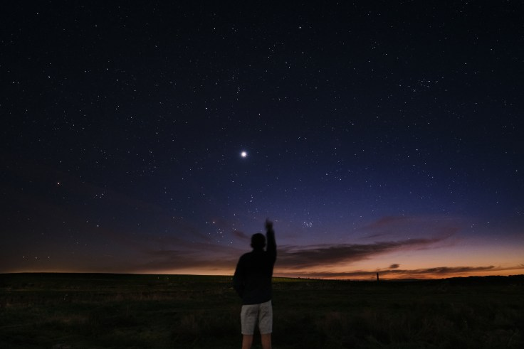 Astrophotography, a picture of planet Venus.