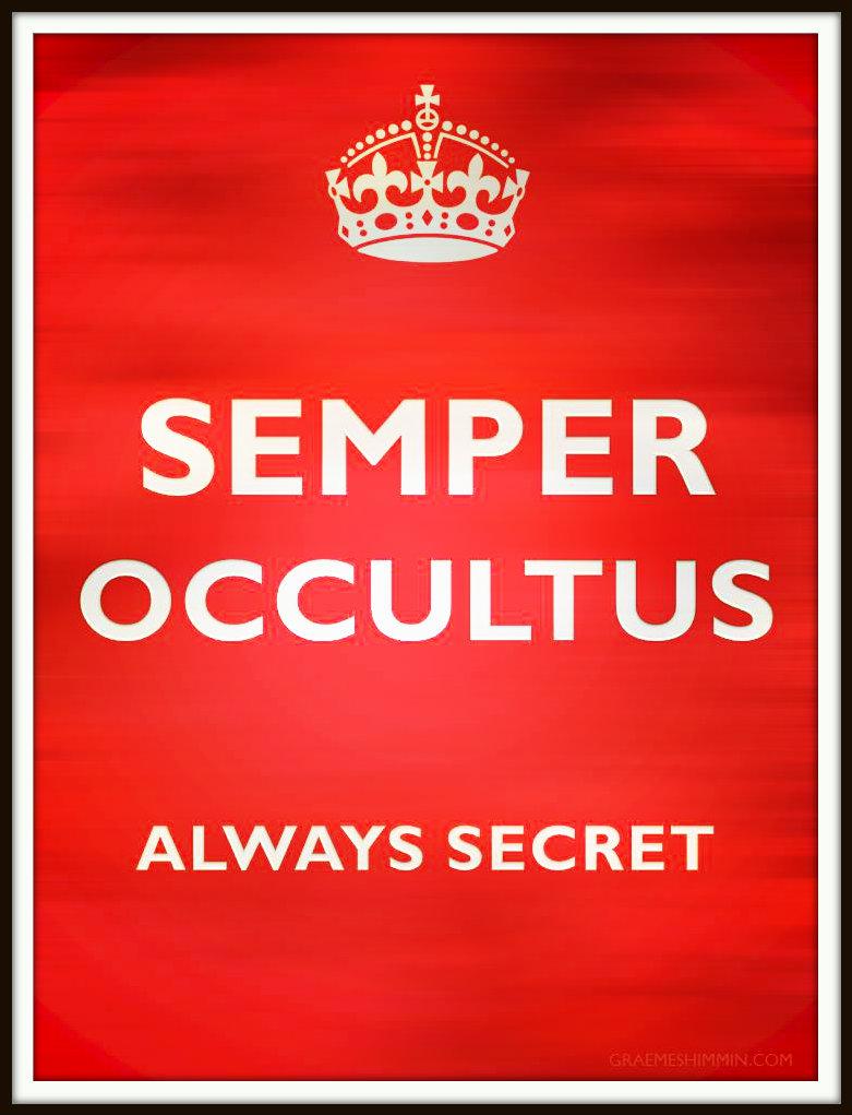 MI6 Motto: Semper Occultus, Always Secret