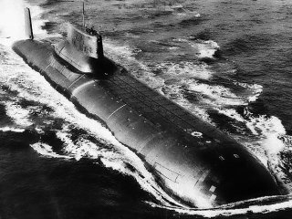 Typhoon Class Submarine like the one in The Hunt For Red October