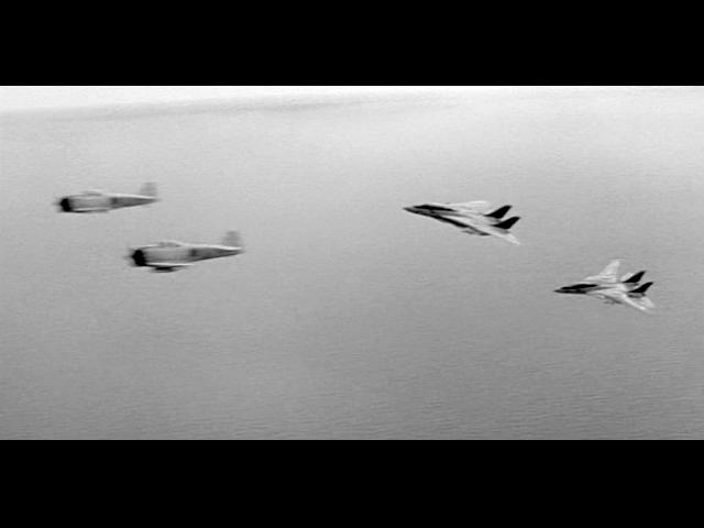 F14 versus Zero in The Final Countdown