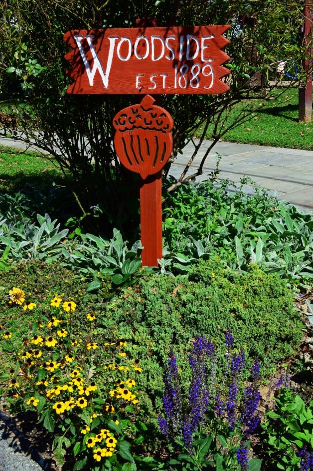 A beautiful garden Woodside post