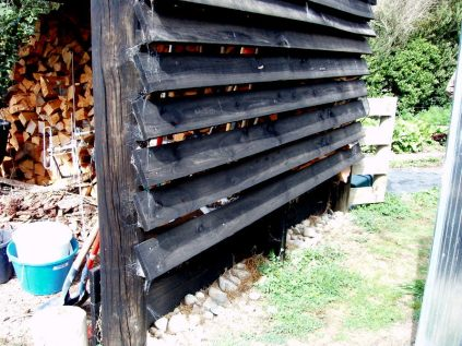 Well ventilated woodshed