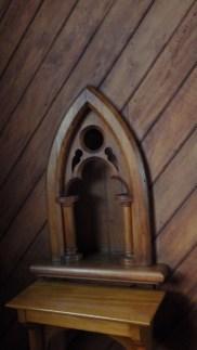 St Aidans interior detail