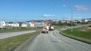 Viðgerð á Gullinbrú.