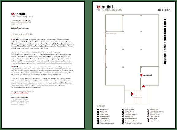 Identikit floor plan design