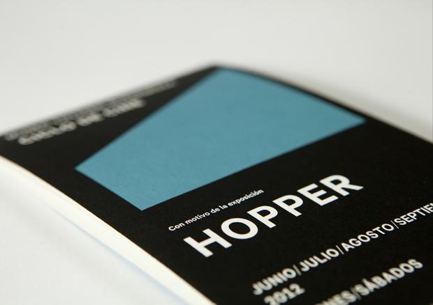 04 Sanchez Lacasta program ciclocine Hopper Sánchez Lacasta traslada gráficamente el juego lumínico de Edward Hopper