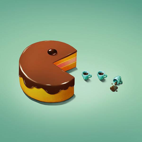 Art Snacks, ilustraciones