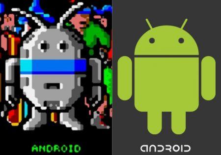quién diseñó el logo de Android