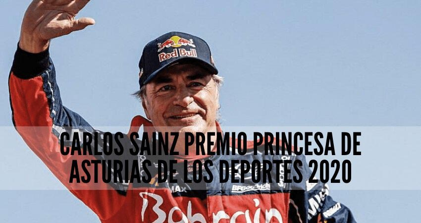 carlos sainz premio princesa de asturias 2020