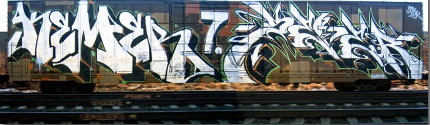Art Crimes Trains 201 North American Freights