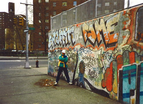 Graffiti Wall of Fame