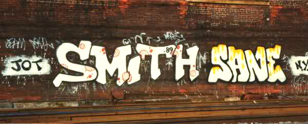 GRAFFITI:  SMITH · SANE
