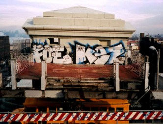 GRAFFITI: FOE · KEZ YKK · SWATCH