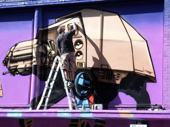 Graffiti Kings Star Wars Art by Aroe