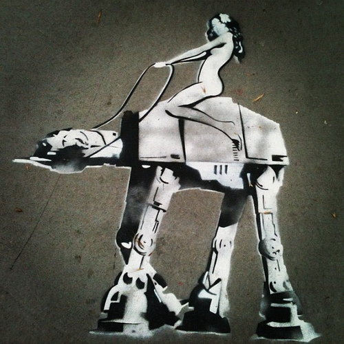 Graffiti Kings Star Wars Art
