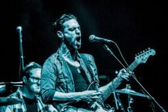 Dan Patlansky supporting Joe Satriani at Hammersmith Eventim Apollo (copyright John Bull)