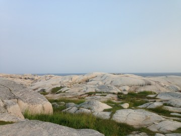 The rocks in Peggy's Cove