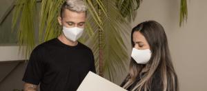 Porque utilizar máscaras e dicas de uso no ambiente de trabalho