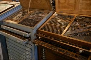 Caracteres tipográficos de caixa alta e caixa baixa