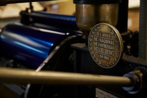 Máquina de impressão Heidelberg