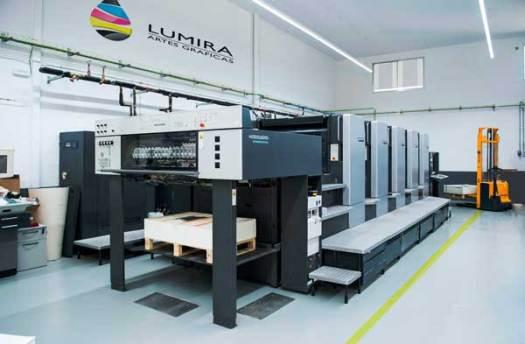Gráficas Lumira máquinas
