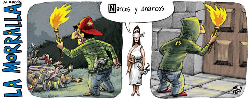 Narcos y Anarcos - Alarcón