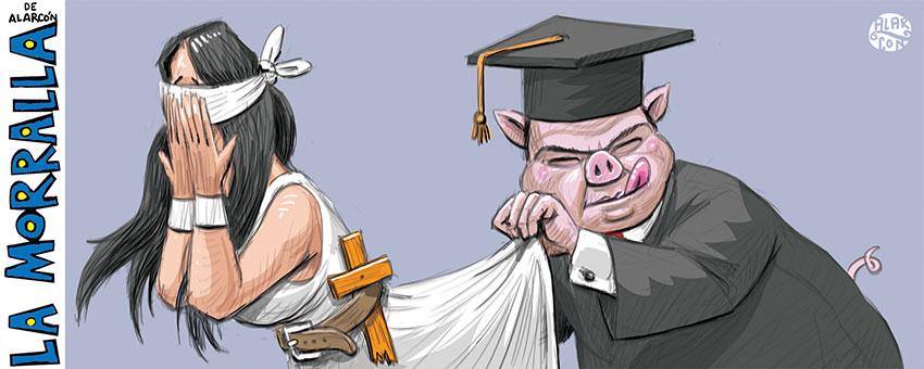 Juez Porky - Alarcón