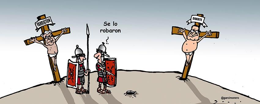 Entre ladrones - Garcí