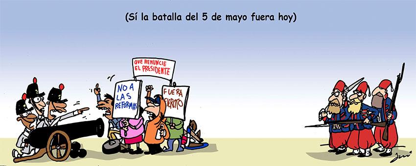 5 de mayo ahora - Garcí