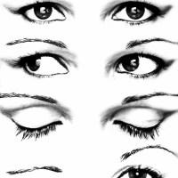 Oczy rzęsy powieki źrenice
