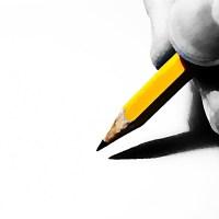 Ołówek palce dłonie grafit rysik paznokcie