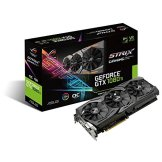 Asus ROG Strix GeForce GTX1080TI-O11G Gaming Grafikkarte (Nvidia, GDDR5X, Aura Sync RGB für bestes VR und 4K Gaming & farblich abgestimmte PCs) -
