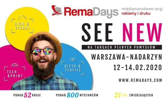 Remadays Warsaw 2020. Nadarzyn February 12-14.