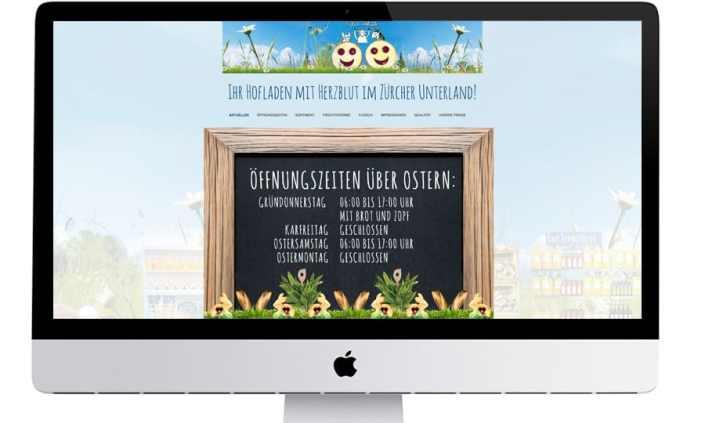 eglis hofladen webdesign by grafikzumglueck