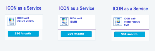 ICON SaaS Subscriptions by Month