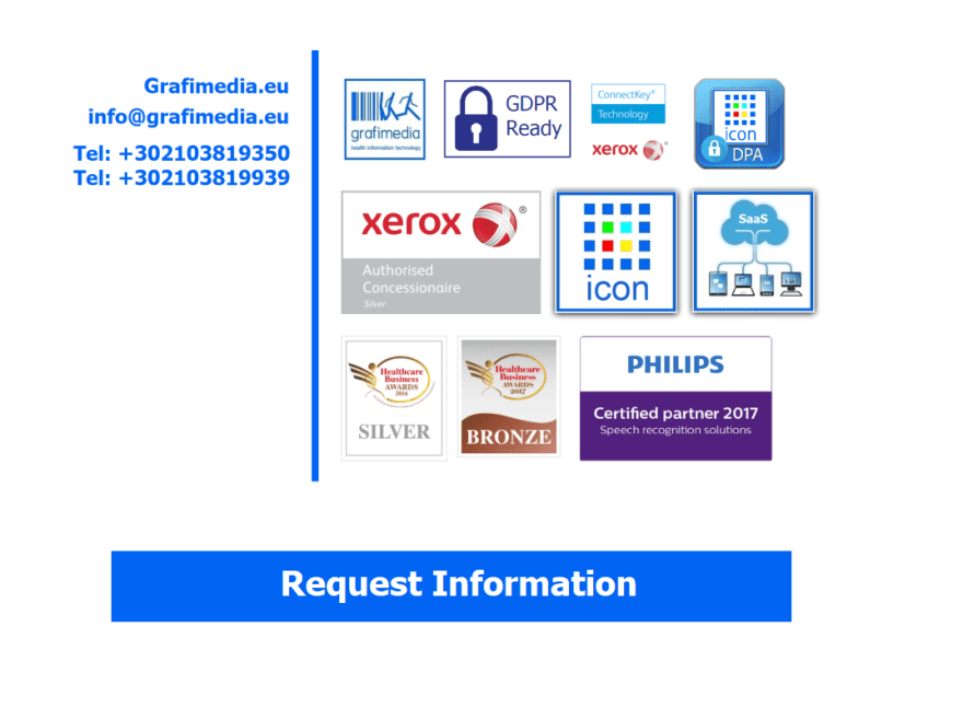Request information from Grafimedia