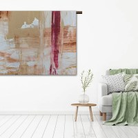 Wandkleed abstract
