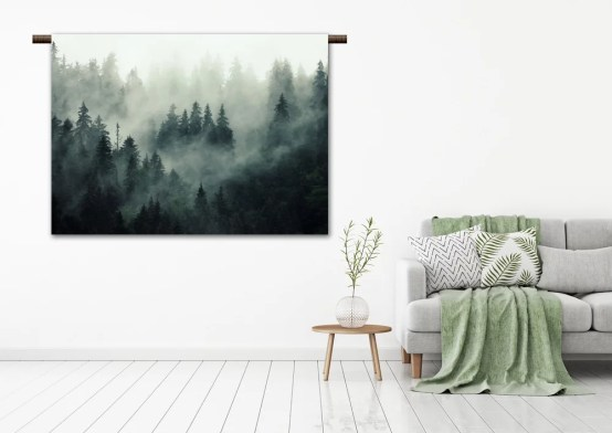 Wandkleed mist