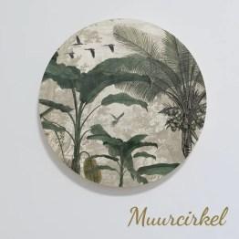 Muurcirkel Jungle