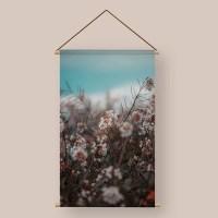 Textielpostet blossom