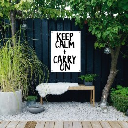 Tuinposter Keep Calm