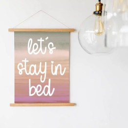 Wandhanger stay in bed