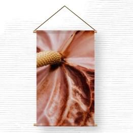 Textielposter roze