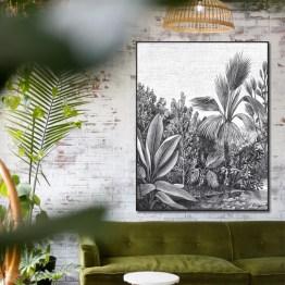 Jungle akoestisch paneel