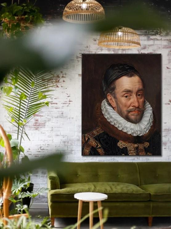 Willem van Oranje akoestisch paneel