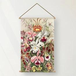 Textielposter orchidea