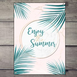 Tuinposter enjoy summer
