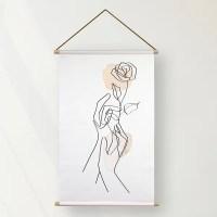 Textielposter Liefde
