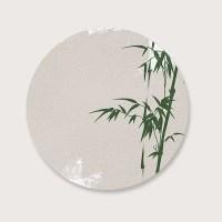 Muurcirkel bamboo